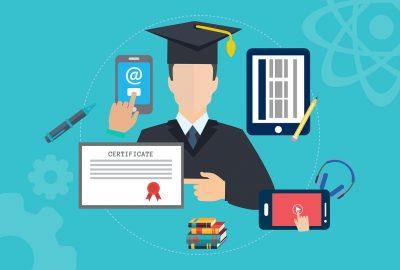 Éducation en ligne avec un programme bien encadré